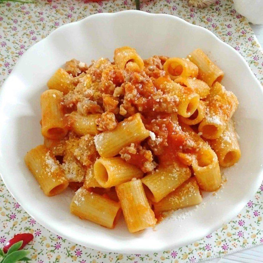 RIGATONI DELLA CASA - Pomodoro, pancetta, gorgonzola - 8,00 €